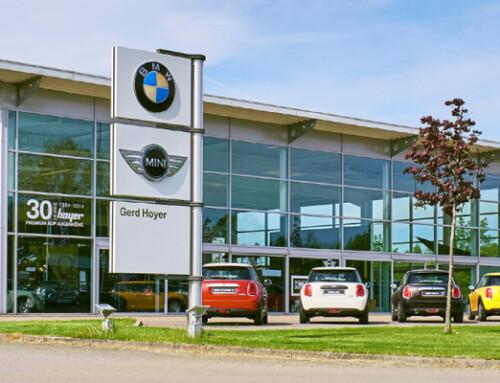 Das Autohaus Gerd Hoyer in Soltau zögert nicht lange